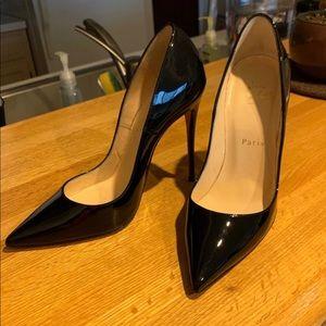 Christian Louboutin So Kate 120 Patent Black